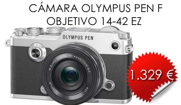 OLYMPUS-PEN-F-Y-OBEJTIVO-14-42EZ