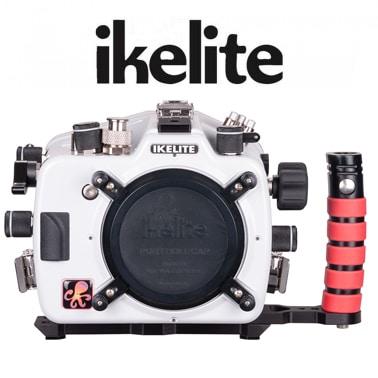 Ikelite parqa Nikon D500 cabecera