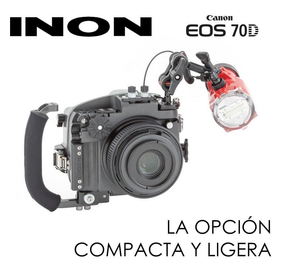 Carcasa submarina INON X-2 para Canon 70D