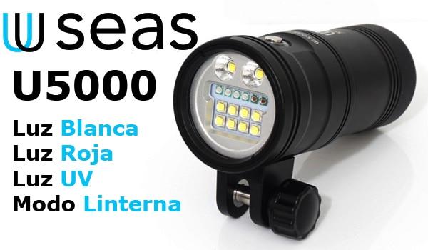 Foco U-Seas U5000 Inicio
