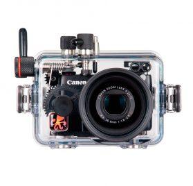 Ikelite_carcasa_para_Canon_G7X_frontal