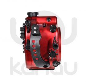 La Carcasa Isotta para la cámara reflex Canon 5D Mark III, está fabricada en aluminio marino anticorrosión. Con acceso a todos los diales principales de la cámara.