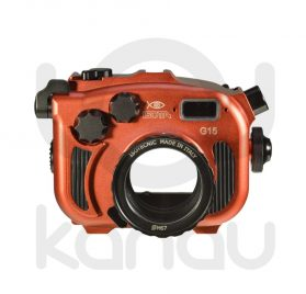 La Carcasa Isotta para la cámara compacta Canon G15 , está fabricada en aluminio marino anticorrosión. Con acceso a todos los diales principales de la cámara.