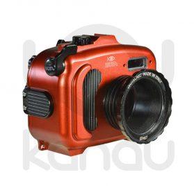 La Carcasa Isotta para la cámara compacta Canon S120 , está fabricada en aluminio marino anticorrosión. Con acceso a todos los diales principales de la cámara.