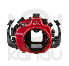 La Carcasa Isotta para la cámara reflex Nikon D7200, está fabricada en aluminio marino anticorrosión. Con acceso a todos los diales principales de la cámara.