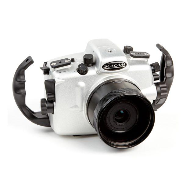 Seacam_carcasa_para_Nikon_D7000_frontal