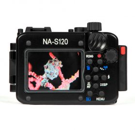 Nauticam NA-S120-trasera