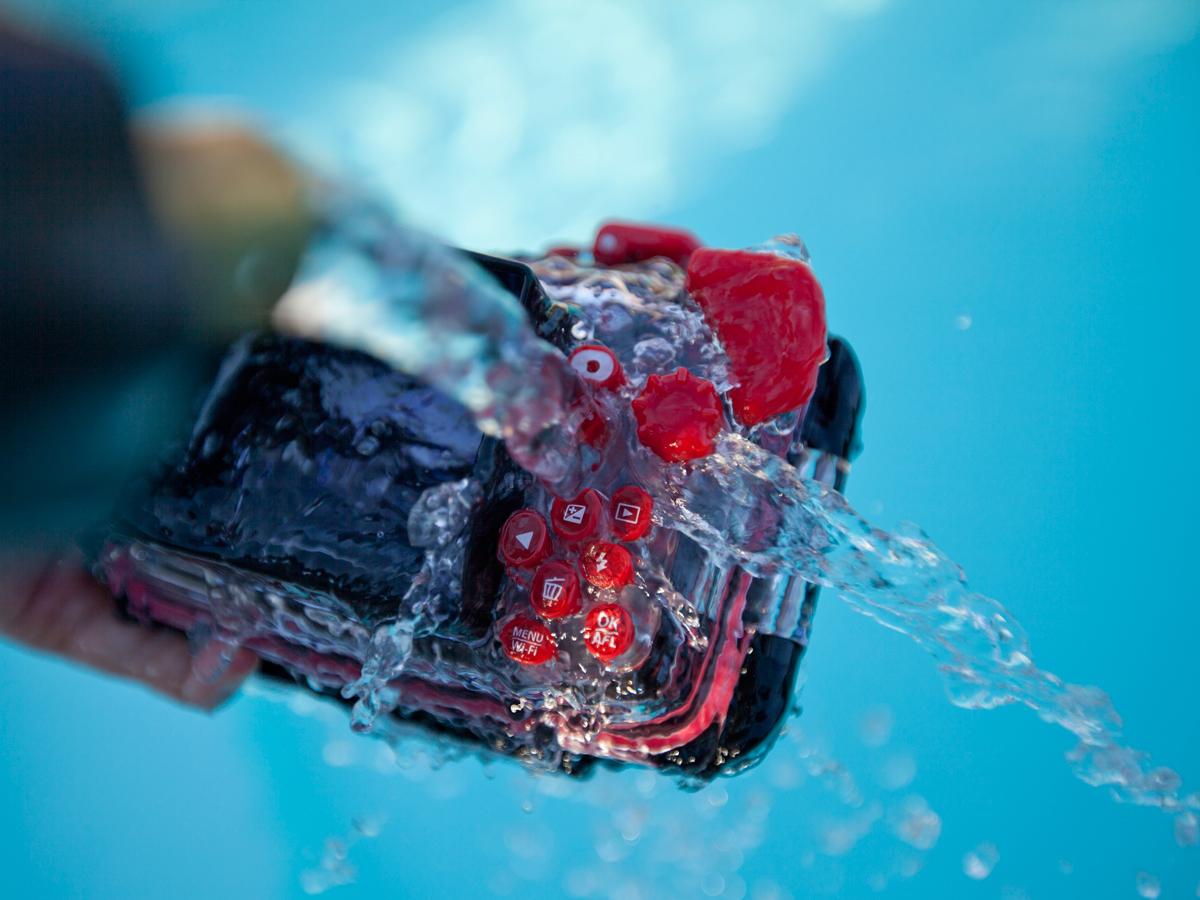 limpieza equipos foto submarina