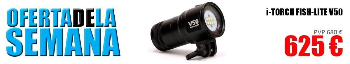 Oferta de la semana - foco i-Torch Fish-Lite V50 625 €