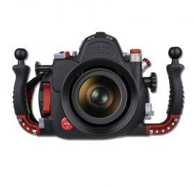 Carcasa sybmarina Hugyfot para la cámara Nikon D810