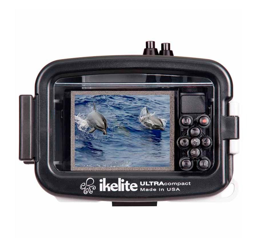 Carcasa submarina Action Ikelite para Canon G7X trasera