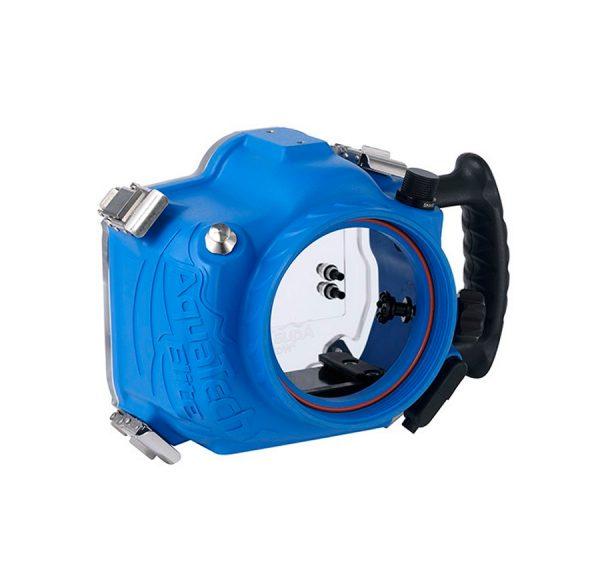 Carcasa-submarina-Aquatech-para-Nijon-D500-frontal