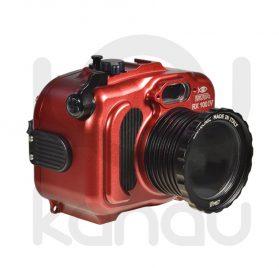 La Carcasa Isotta para la cámara compacta, Sony RX100 Mark VI , está fabricada en aluminio marino anticorrosión. Con acceso a todos los diales principales de la cámara.