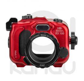 La Carcasa Isotta para la cámara compacta, Sony RX100 Mark V y VA , está fabricada en aluminio marino anticorrosión. Con acceso a todos los diales principales de la cámara.