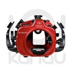 La Carcasa Isotta para la cámara reflex Canon 5D Mark IV, está fabricada en aluminio marino anticorrosión. Con acceso a todos los diales de la cámara.