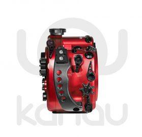 La Carcasa Isotta para la cámara reflex Nikon D500, está fabricada en aluminio marino anticorrosión. Con acceso a todos los diales de la cámara.