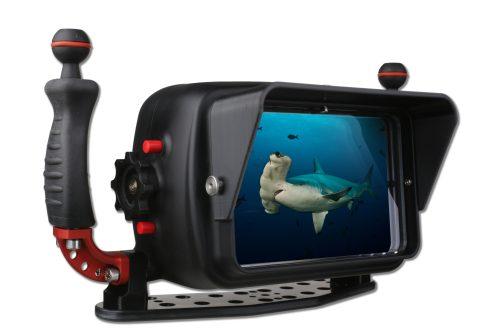 Visor de carcasa submarina Hugyfot para GoPro