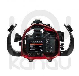 La Carcasa Isotta para la cámara sin espejo Sony A7S Mark II, está fabricada en aluminio marino anticorrosión. Con acceso a todos los diales de la cámara.