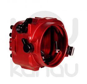 La Carcasa Isotta para la cámara de acción, modelo Z CAM E1, está fabricada en aluminio marino anticorrosión. Con acceso a todos los diales principales de la cámara.