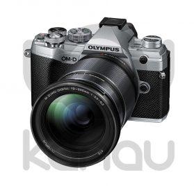 Kit Olympus compuesto por cámara OM-D E M5 Mark III con objetivo M. Zuiko 12-200 mm color plata. Puedes adquirirla financiada al 0% de interés, paga a 10 meses sin intereses, sin ningún tipo de comisión.