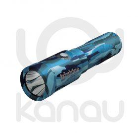 Foco para iluminación submarina BIGBLUE AL1200NP II Camo Blue con acabado en camuflaje azul
