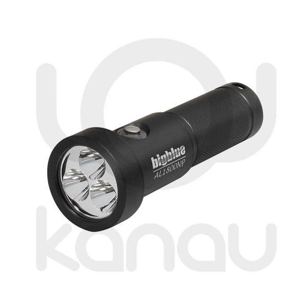 Foco para iluminación submarina BIGBLUE AL1800NP Black