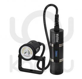 Foco para foto y video submarino de 8000 lumen con batería de larga duracion separada del cuerpo del foco
