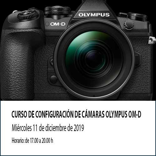 Curso de configuración de cámara sin espejo gratis. Aprende a configurar tu Olympus con Kanau
