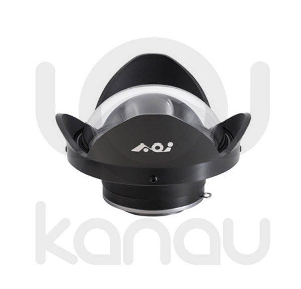AOI UWL-04A Lente húmeda de AOI con compatibilidad con QRS-01, factor 0.42X , Lentes con 5 elementos en 5 grupos. 160º con 28mm,