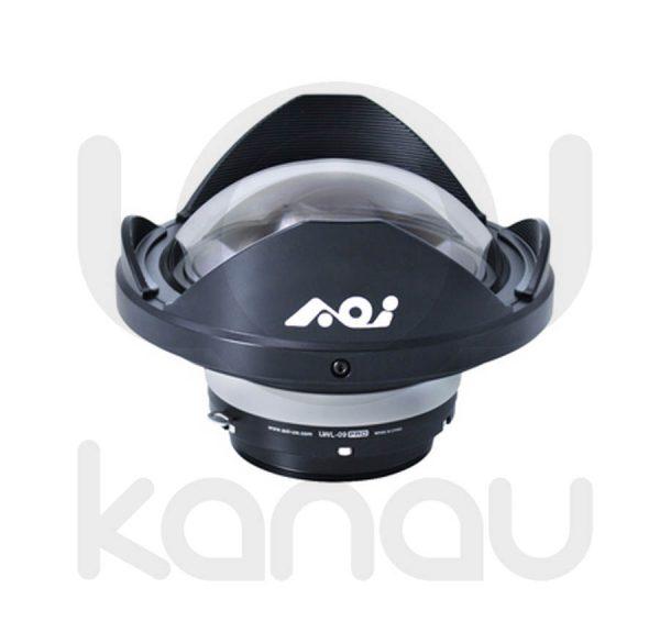 AOI UWL-09 PRO Lente húmeda de AOI con factor 0.42X , Lentes con 6 elementos en 6 grupos. 160º con 28mm,