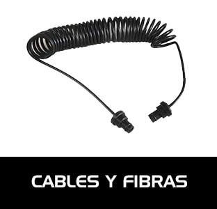 Cables y fibras ópticas para el correcto funcionamiento de los flashes submarinos