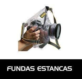 Fundas estancas para poder sumergir con seguridad equipos de foto y vídeo. Fundas estancas para objetos personales.