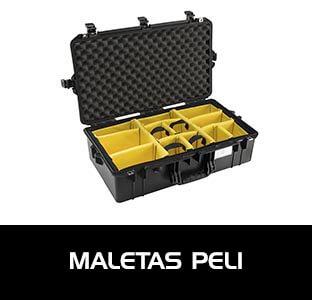 Maletas Peli para el transporte seguro de todo tipo de equipos