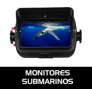 Monitores submarinos para facilitar nuestro trabajo en el agua. No solo veremos una imagen más grande sino que podremos aprovechar recursoss como el Peaking focus.