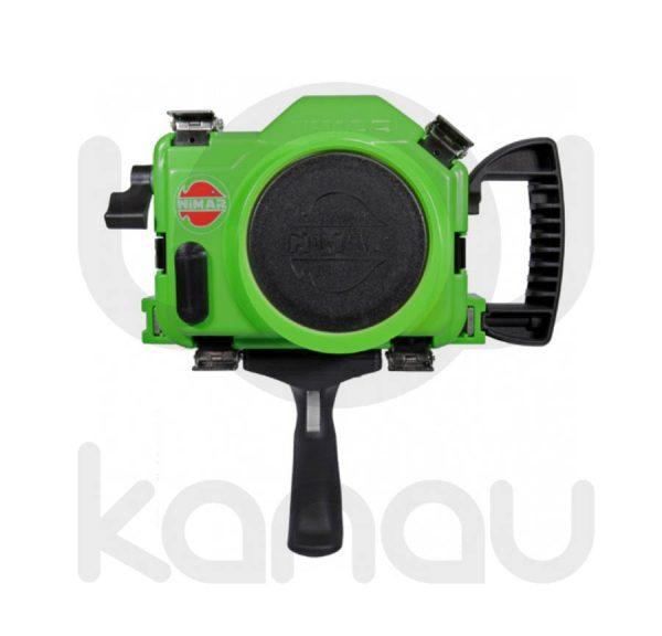 Carcasas submarinas de Surf de la gama Pro para Nikon D7500, D7100, D7200, D5500, D5600, D5300, D5200, D5100, D3300, D3200, D3100. Cuerpo fabricado en tecnopolímero de alto impacto y resistencia. La cubierta posterior es transparente y le ofrece una vista completa de la cámara, el monitor y la junta tórica.