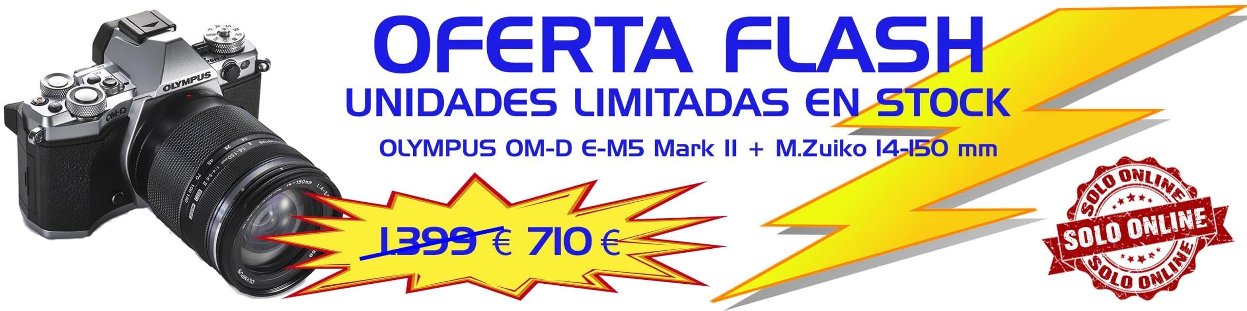 Unidades limitadas de Olympus E-M5 Mark II a un precio inigualable
