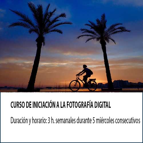 curso de foto digital semanal
