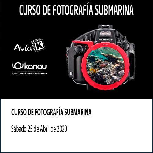 curso-de-fotografia-submarina en Madrid
