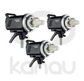 Kit de iluminacion Godox MS300D - flashes