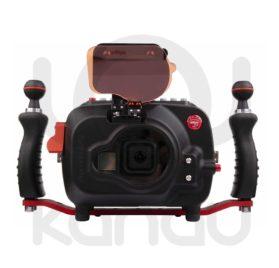 """Carcasa Hugyfot Vsion 8 XS para GoPro 8, con monitor de 7"""" y sistema de vacío incorporado"""