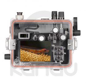Carcasa Ikelite para Panasonic GX9 trasera