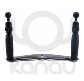 carbonarm pletina 25 cm con Grips Quick Release